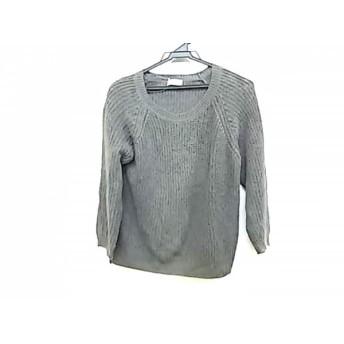 【中古】 マーガレットハウエル MargaretHowell 長袖セーター サイズ2 M レディース 美品 グレー