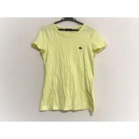 【中古】 バーバリーブルーレーベル Burberry Blue Label 半袖Tシャツ サイズ38 M レディース イエロー