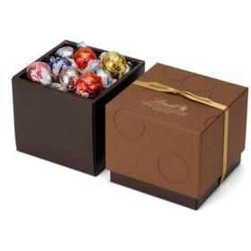 リンツ Lindt チョコレート チョコ スイーツ ギフト お中元 リンドールスクエアギフトボックス 7種アソート27個入り