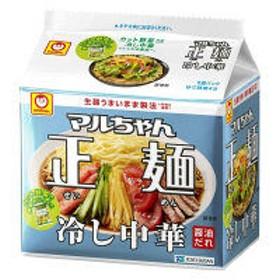東洋水産 マルちゃん正麺 冷し中華 5食パック 1個