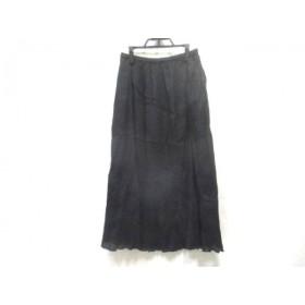 【中古】 ノーブランド ロングスカート サイズ40 M レディース ブラック