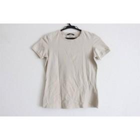 【中古】 ヒューゴボス HUGOBOSS 半袖Tシャツ サイズINT S レディース 美品 ベージュ