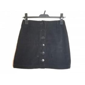 【中古】 アニエスベー agnes b ミニスカート サイズ36 S レディース 黒