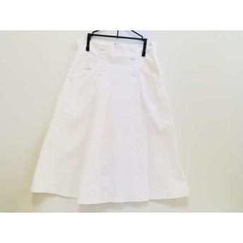 【中古】 オープニングセレモニー OPENING CEREMONY スカート サイズM レディース 白