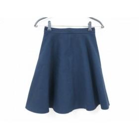 【中古】 ジャスグリッティー JUSGLITTY ミニスカート サイズ0 XS レディース ネイビー