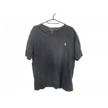 【中古】 ポロラルフローレン POLObyRalphLauren 半袖Tシャツ サイズM メンズ ダークグレー