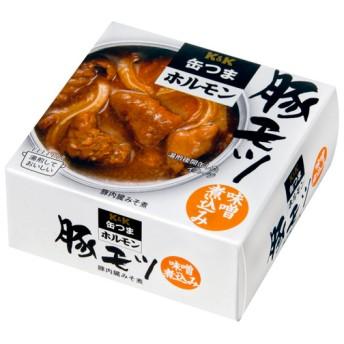 オンワード・マルシェ 缶つまホルモン 豚モツ 味噌煮込み 85g×6