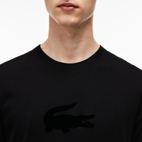 フロッキーロゴプリントTシャツ