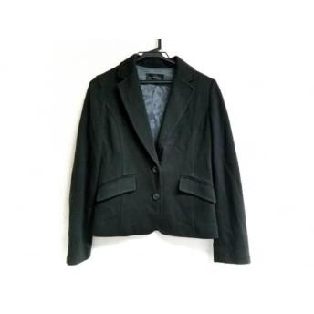 【中古】 グリーンレーベルリラクシング green label relaxing ジャケット サイズ38 M レディース 美品 黒