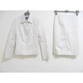 【中古】 ルスーク Le souk スカートスーツ レディース 美品 白