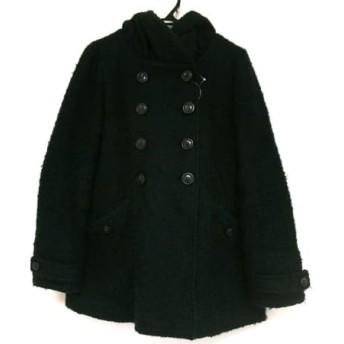 【中古】 マウジー moussy コート サイズ1 S レディース 黒 冬物