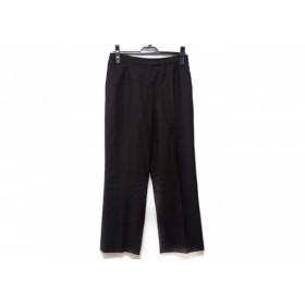 【中古】 レリアン Leilian パンツ サイズ13 L レディース ダークブラウン