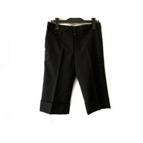 【中古】 トゥモローランド TOMORROWLAND ハーフパンツ サイズ38 M レディース 美品 黒