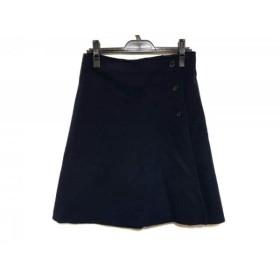 【中古】 デミリー demylee スカート サイズS レディース ネイビー