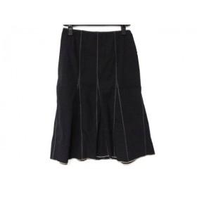 【中古】 ポールカ PAULEKA スカート サイズ36 S レディース 黒