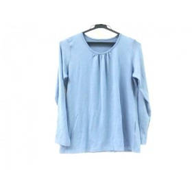 【中古】 コルディア CORDIER 長袖Tシャツ サイズ42 L レディース ブルー