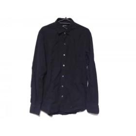 【中古】 ジョセフオム JOSEPH HOMME 長袖シャツ サイズ48 XL メンズ ダークネイビー