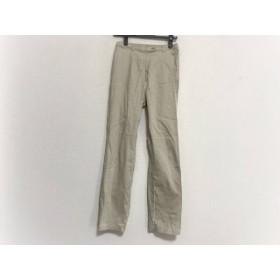 【中古】 ニジュウサンク 23区 パンツ サイズ40 M レディース アイボリー