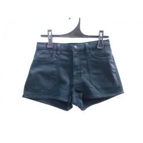 【中古】 スライ SLY ショートパンツ サイズ2 M レディース 黒