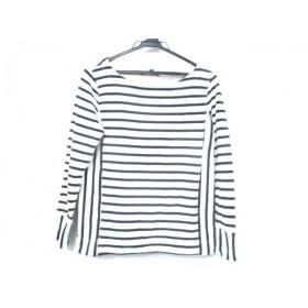 【中古】 バナナリパブリック BANANA REPUBLIC 長袖Tシャツ サイズXS XS レディース ホワイト ネイビー