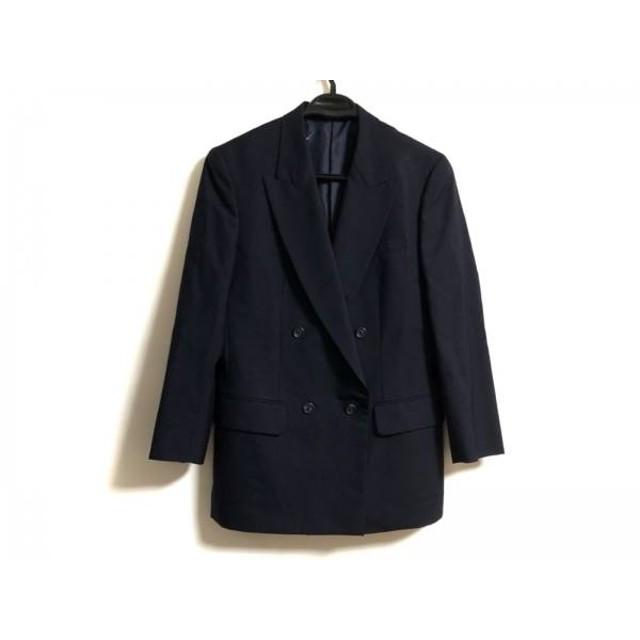 【中古】 ジェイプレス J.PRESS ジャケット サイズ9 メンズ ダークネイビー 肩パッド