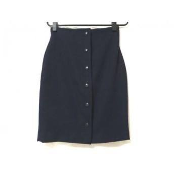 【中古】 オープニングセレモニー OPENING CEREMONY スカート サイズS レディース 美品 ネイビー