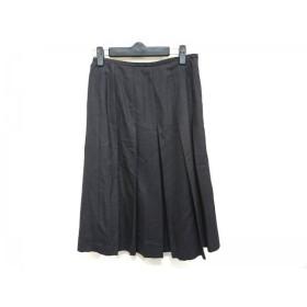 【中古】 ジユウク 自由区/jiyuku スカート サイズ36 S レディース 黒