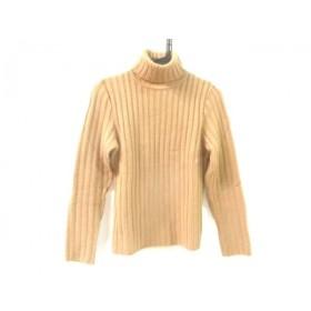 【中古】 エフデ ef-de 長袖セーター サイズ2 M レディース ブラウン