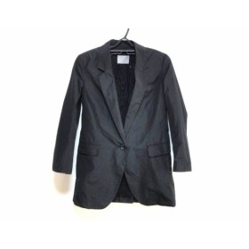 【中古】 セオリーリュクス theory luxe ジャケット サイズ38 M レディース 黒 肩パッド