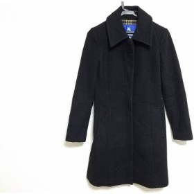 【中古】 バーバリーブルーレーベル Burberry Blue Label コート サイズ36 S レディース 黒 冬物