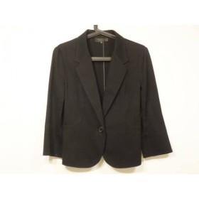 【中古】 アンタイトル UNTITLED ジャケット サイズ3 L レディース 黒