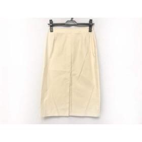【中古】 チヴィディーニ CIVIDINI スカート サイズ40 M レディース ベージュ