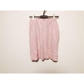 【中古】 フォクシー FOXEY ミニスカート サイズ40 M レディース ピンク