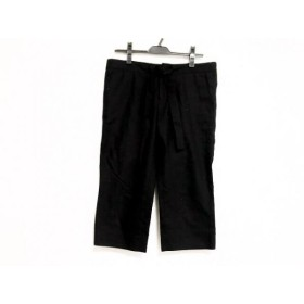 【中古】 ドゥロワー Drawer パンツ サイズ40 M レディース 黒