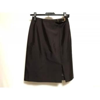 【中古】 ボディドレッシングデラックス スカート サイズM M レディース 美品 ダークブラウン