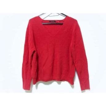 【中古】 マカフィ MACPHEE 長袖セーター サイズS レディース レッド