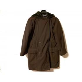【中古】 マックスマーラウィークエンド コート サイズ38 S レディース ダークブラウン 冬物