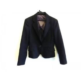 【中古】 ライム RHYME ジャケット サイズ7 S レディース 黒 ORIHICA