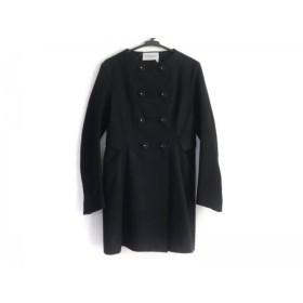 【中古】 イヴサンローラン YvesSaintLaurent コート レディース 黒 春・秋物