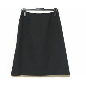 【中古】 フォクシー FOXEY スカート サイズ40 M レディース ダークグレー