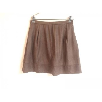 【中古】 ローズティアラ Rose Tiara スカート サイズ42 L レディース ブラウン