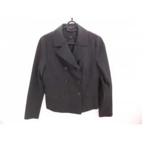 【中古】 セオリー theory コート サイズ2 S レディース 黒 冬物