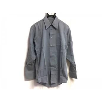 【中古】 ケンゾー KENZO 長袖シャツ サイズ2 M メンズ ダークグレー HOMME