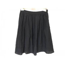 【中古】 マッキントッシュフィロソフィー スカート サイズ36 M レディース ダークネイビー