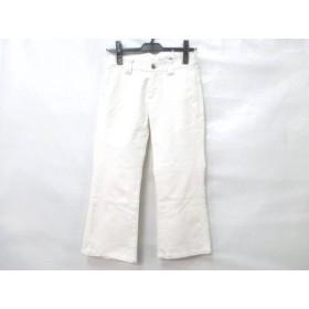 【中古】 ラコステ Lacoste パンツ サイズ38 M レディース 白
