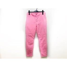 【中古】 ジェイブランド J Brand パンツ サイズ30 XS レディース 新品同様 ピンク