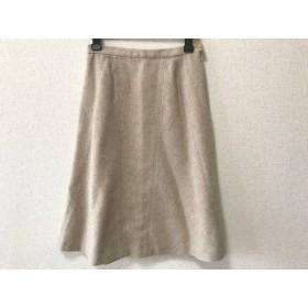 【中古】 フランコフェラーロ スカート サイズ3 L レディース ベージュ ライトブルー ピンク