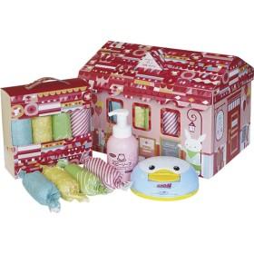 おむつBOX Mサイズ CBO-50GM 女の子 お祝いギフト 出産・お誕生日お祝いギフト おむつケーキ (24)