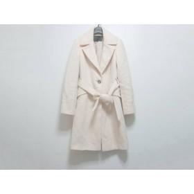 【中古】 アンタイトル UNTITLED コート サイズ3 L レディース ピンク 冬物