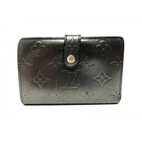 【中古】 ルイヴィトン 2つ折り財布 モノグラムヴェルニ ポルト モネ・ビエ ヴィエノワ M91362 アンディゴ
